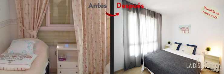 Dormitorio La Diseñoteca Home Staging & Interiors