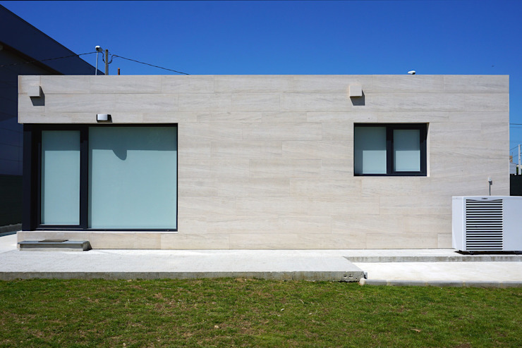 Casa prefabricada Cube 150 Casas estilo moderno: ideas, arquitectura e imágenes de Casas Cube Moderno