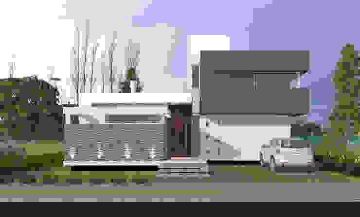 Vivienda LR - La Peregrina - Neuquén Capital Casas modernas: Ideas, imágenes y decoración de ARKIZA Moderno