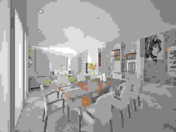 Vivienda LR – La Peregrina – Neuquén Capital Dormitorios modernos: Ideas, imágenes y decoración de ARKIZA Moderno