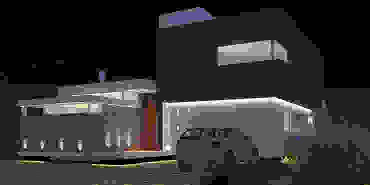 Vivienda LR – La Peregrina – Neuquén Capital Casas modernas: Ideas, imágenes y decoración de ARKIZA Moderno