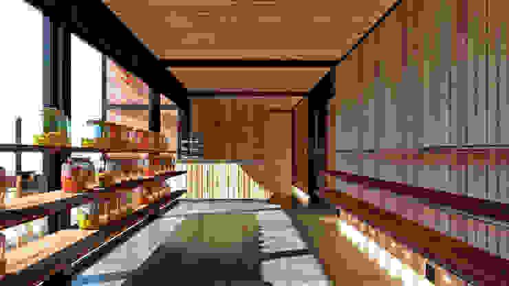 Edificio Edu Down Casas estilo moderno: ideas, arquitectura e imágenes de NEF Arq. Moderno