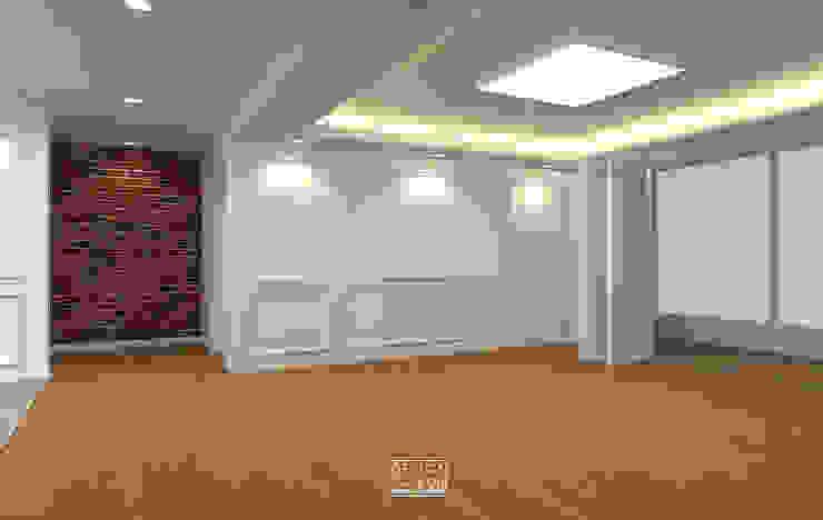 은하마을 49평 리모델링_ Design by Goeun 클래식스타일 거실 by 디자인고은 클래식