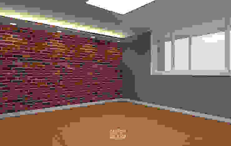 은하마을 49평 리모델링_ Design by Goeun 클래식스타일 침실 by 디자인고은 클래식