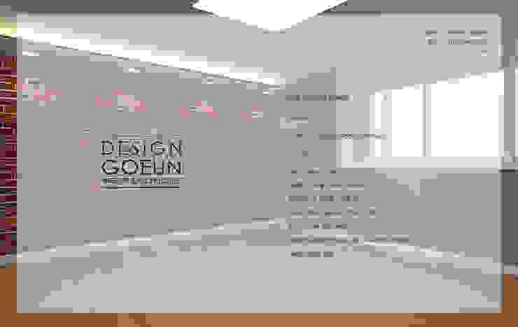 은하마을 49평 리모델링_ Design by Goeun 인더스트리얼 침실 by 디자인고은 인더스트리얼 벽돌
