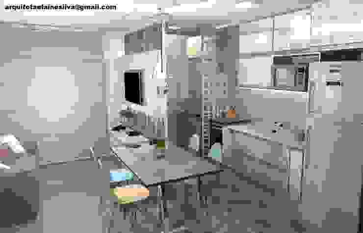 Ambientes Integrados Cozinhas modernas por Arquiteta Elaine Silva Moderno