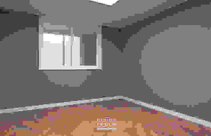 [부천인테리어] 49평 리모델링_ Design by Goeun 모던스타일 침실 by 디자인고은 모던