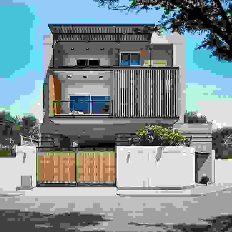 บ้านหลักสี่ โดย modernloft home