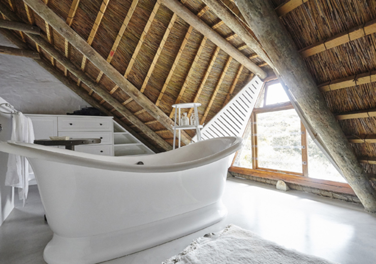 Kleinbos Rustic style bathroom by Full Circle Design Rustic