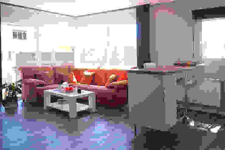 غرفة المعيشة تنفيذ Casas Cube