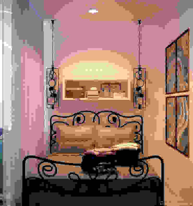 Cuartos de estilo minimalista de Студия интерьерного дизайна happy.design Minimalista