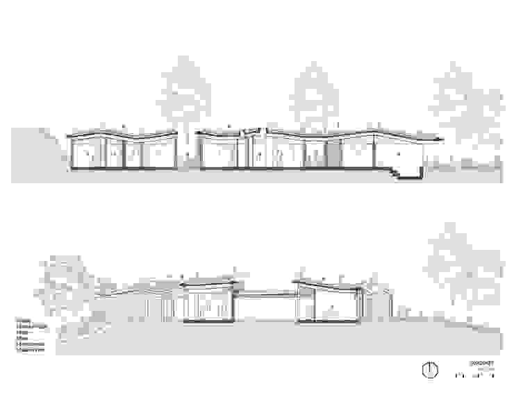 Secciones Casas de estilo rural de OPUS Rural