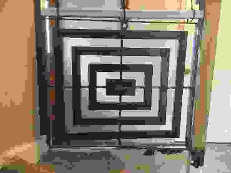 Stair Art ZENTIA Corridor, hallway & stairsStairs Iron/Steel Metallic/Silver