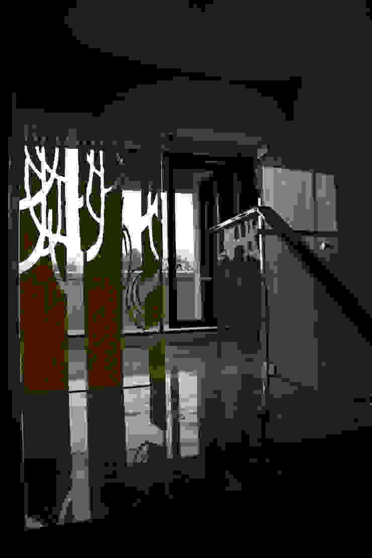 維摩山房 亞洲風玄關、階梯與走廊 根據 台中室內建築師|利程室內外裝飾 LICHENG 日式風、東方風