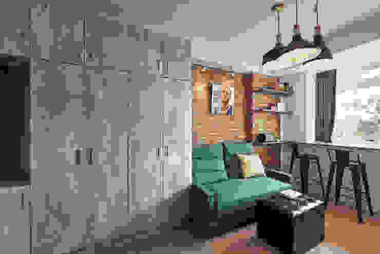 小資工業住宅 根據 有偶設計 YOO Design 工業風