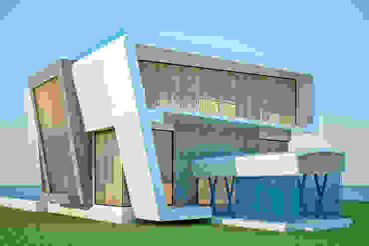 LAME CASA VILLA Modern houses by Archie-Core Modern