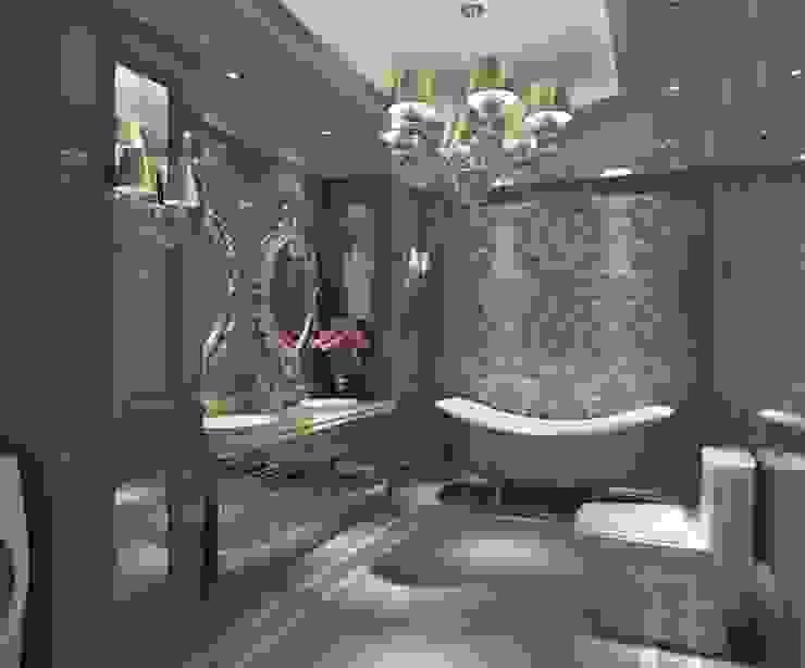 INTERIOR FLAT Modern bathroom by Archie-Core Modern
