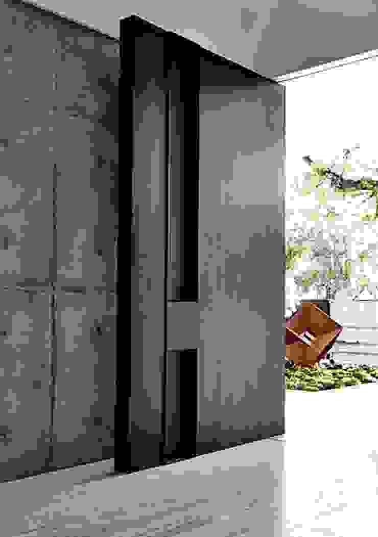 INTERIOR FLAT Modern windows & doors by Archie-Core Modern