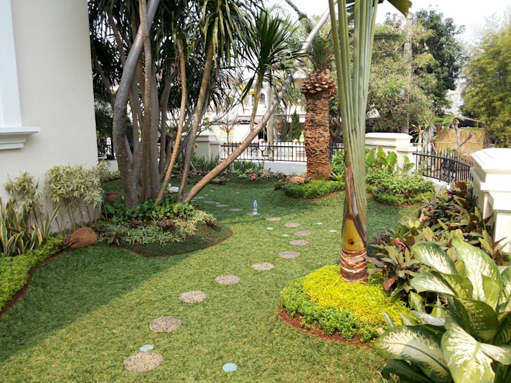 Tukang taman di jember Bar & Klub Modern Oleh NISCALA GARDEN | Tukang Taman Surabaya Modern
