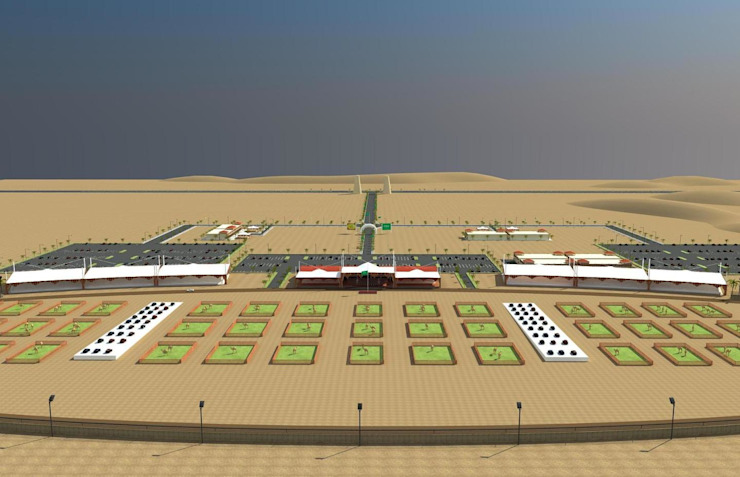 Camel Stadium by Walls Asia Architects and Engineers