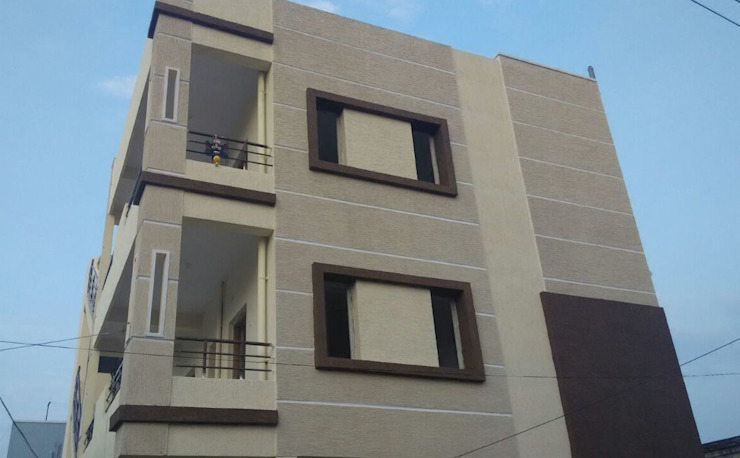 Brhama Exterior Work by Walls Asia Architects and Engineers