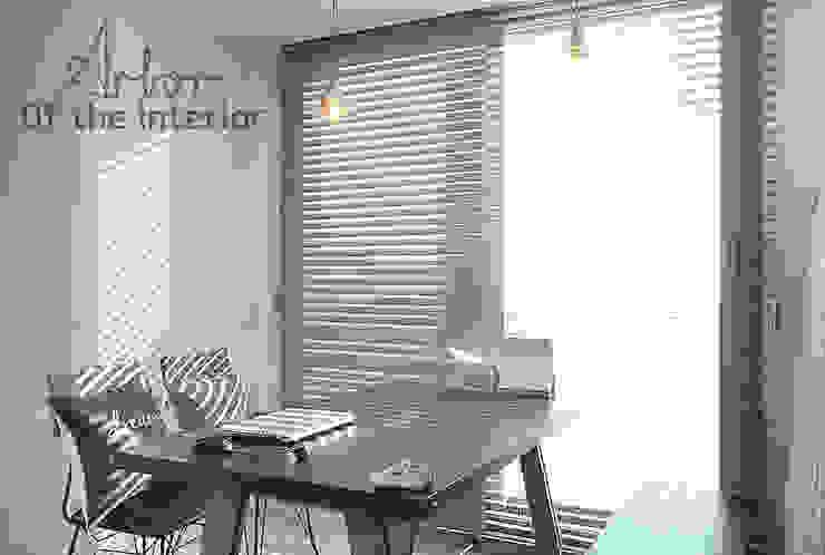 Phòng ăn phong cách hiện đại bởi 디자인 아버 Hiện đại