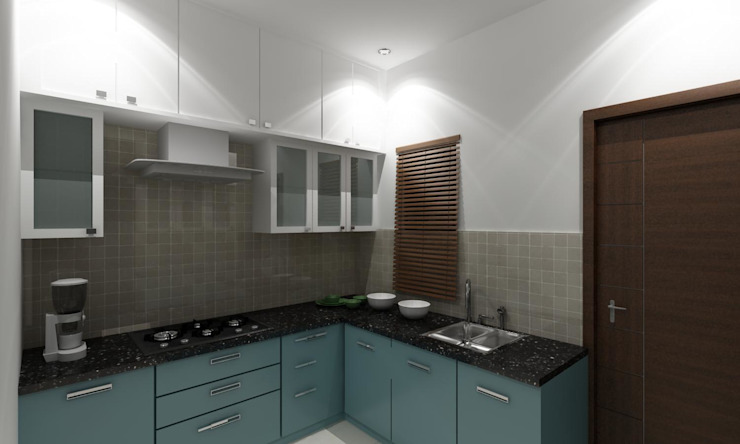 Yosuf Kitchen Interiors Work by Walls Asia Architects and Engineers