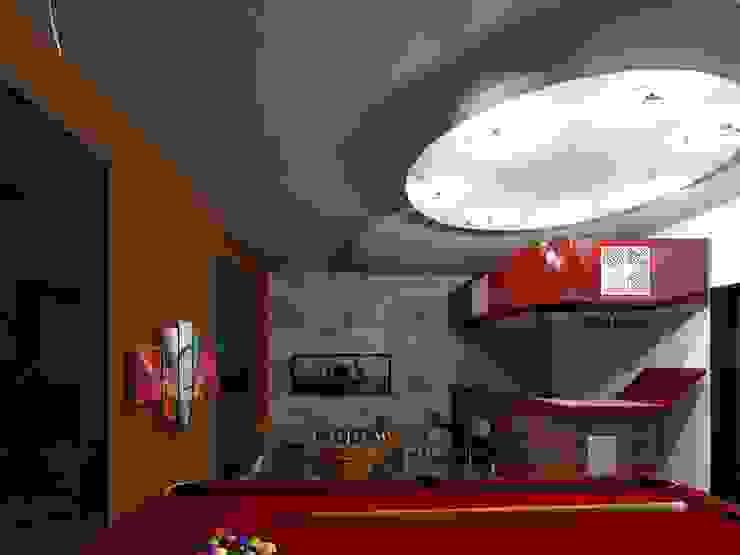 Salon de Juegos & Bar Bodegas de estilo minimalista de HC Arquitecto Minimalista