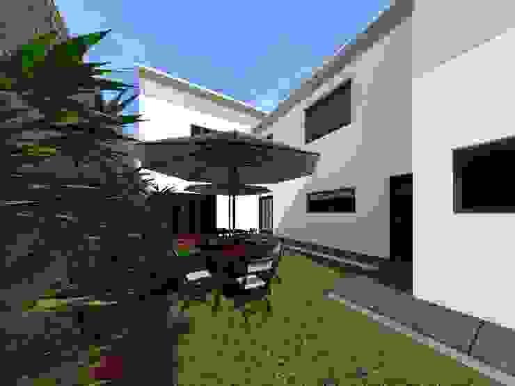 Сад в стиле минимализм от HC Arquitecto Минимализм