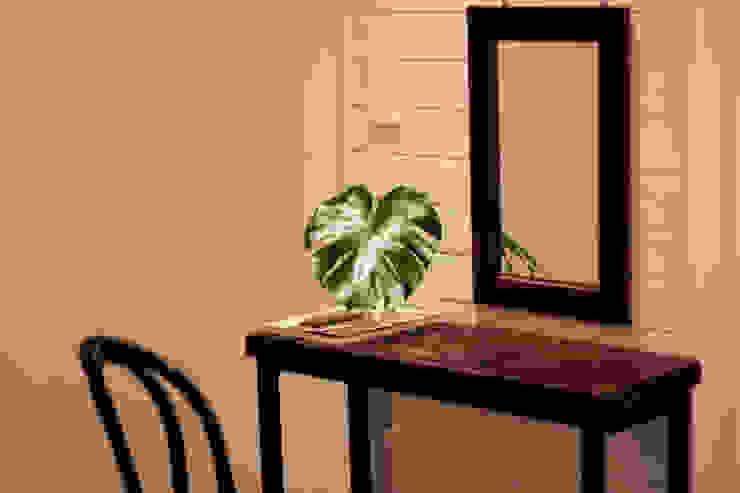 전주인테리어 디자인투플라이 - 킨포크 스타일의 전주한옥마을 안녕제제 게스트하우스 컨트리스타일 침실 by 디자인투플라이 컨트리
