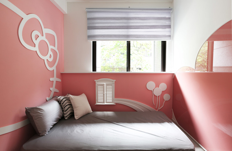 Dormitorios de estilo moderno de 築一國際室內裝修有限公司 Moderno