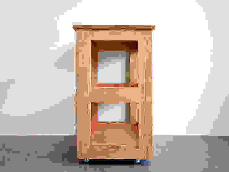 레드오크로 제작한 주방용웨건/이동식 콘솔 : 나무모아의 미니멀리스트 ,미니멀 우드 우드 그레인