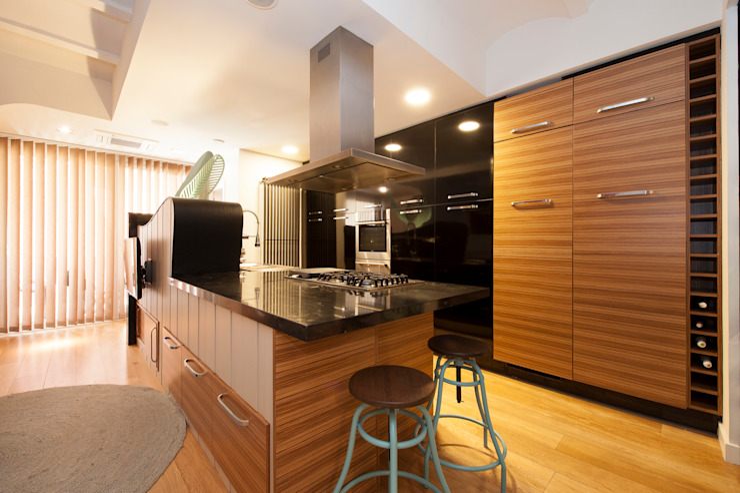 Sincro Modern kitchen Brown