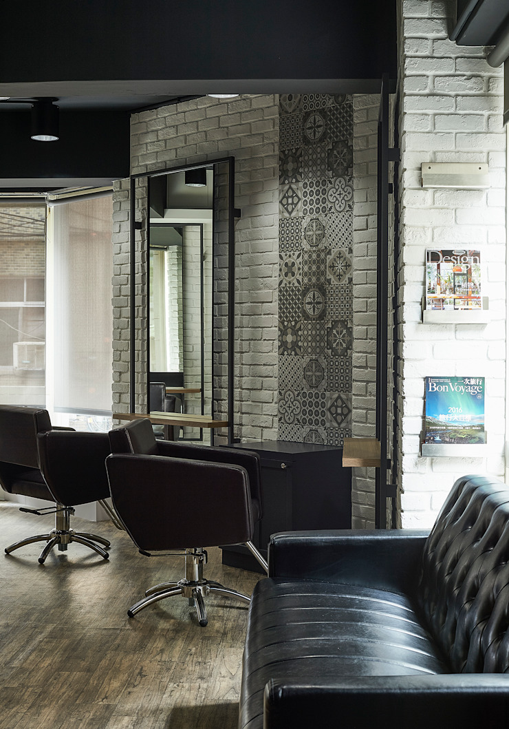 ys Salon 根據 築一國際室內裝修有限公司 工業風
