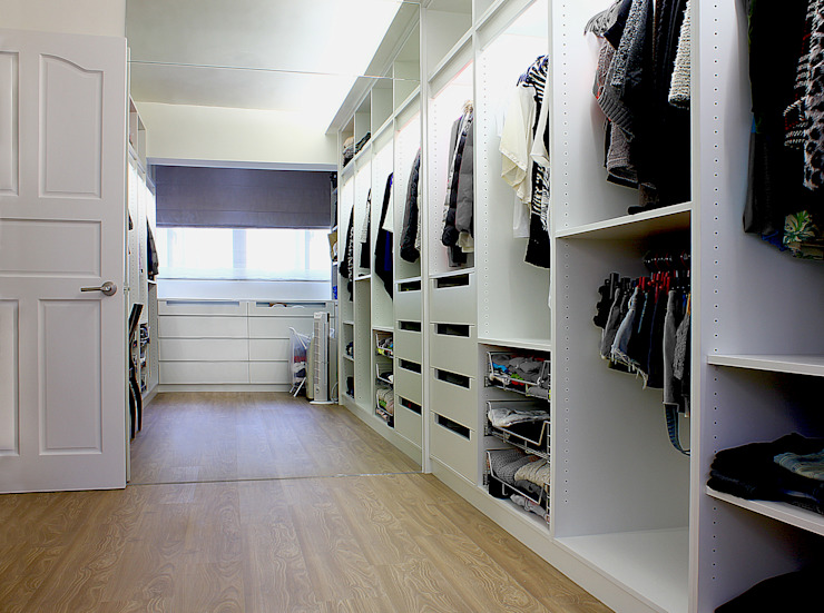 Dressing room by 築一國際室內裝修有限公司, Modern