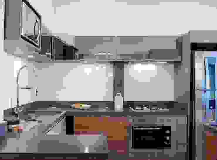 Minimalistische Küchen von Ambientta Arquitetura Minimalistisch