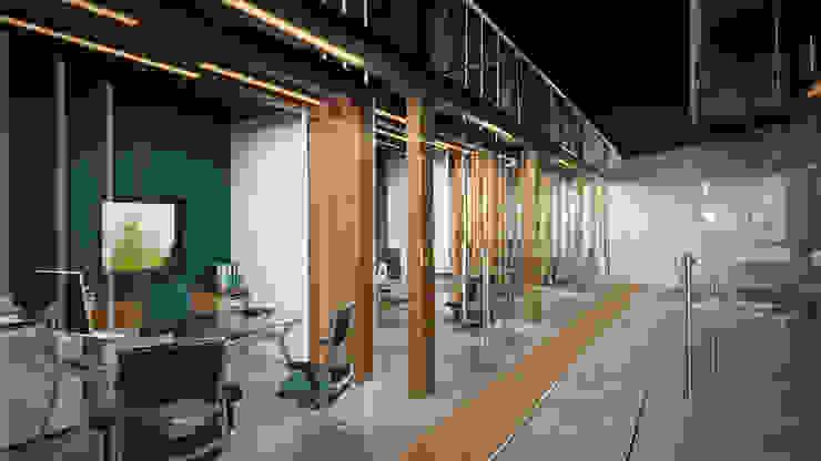 Ibu 3d Ruang Studi/Kantor Modern