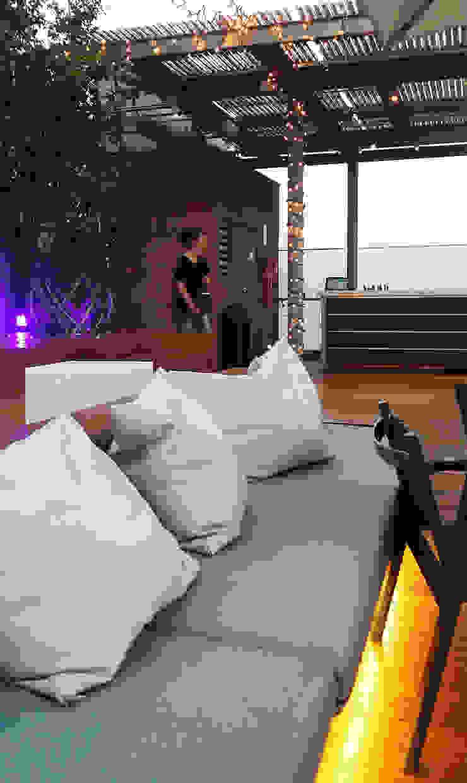 Terraza Hotel Ayre Rosellon Barcelona OutSide Tech Light Hoteles