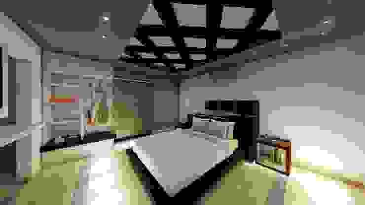 Recamara diseño interior Cuartos de estilo moderno de homify Moderno
