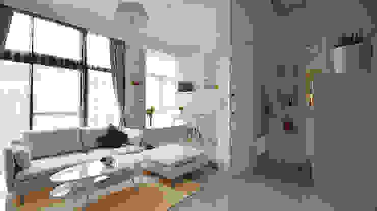 小坪數大空間之16坪純淨簡約溫馨宅 根據 瓦悅設計有限公司 現代風