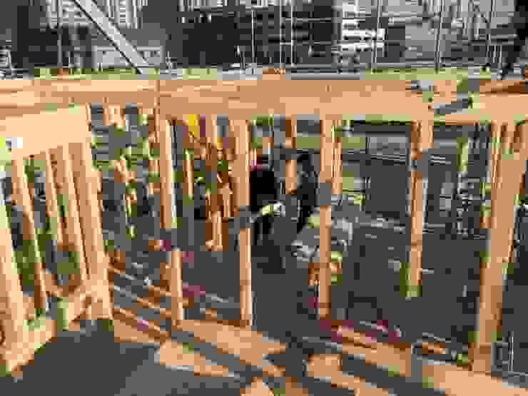 친환경 소재로 우수한 내구성과 내진 설계가 된 중목구조 방식입니다. by 창조하우징