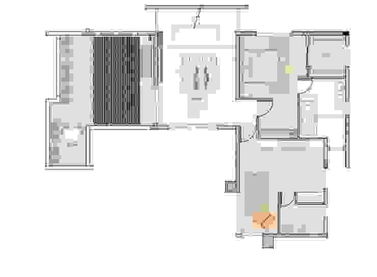 Studioapart Interior & Product design Barcelona Modern style bedroom