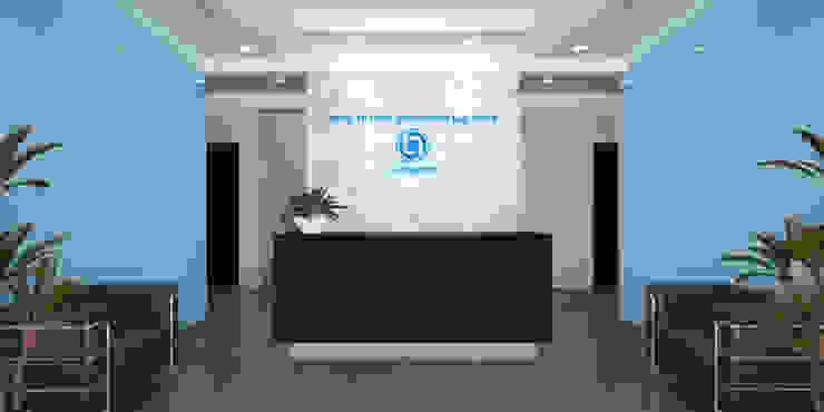 Thiết kế thi công nội thất văn phòng Lạc Hồng - Hưng Yên: hiện đại  by Nội Thất TNC, Hiện đại
