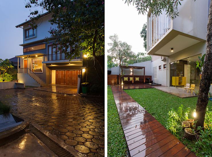 Modern Houses by homify Modern Reinforced concrete