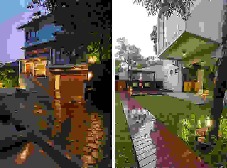 現代房屋設計點子、靈感 & 圖片 根據 homify 現代風 強化水泥