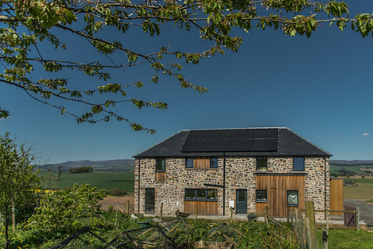 Drumpark Plot 1 Rustic style houses by Woodside Parker Kirk Architects Rustic
