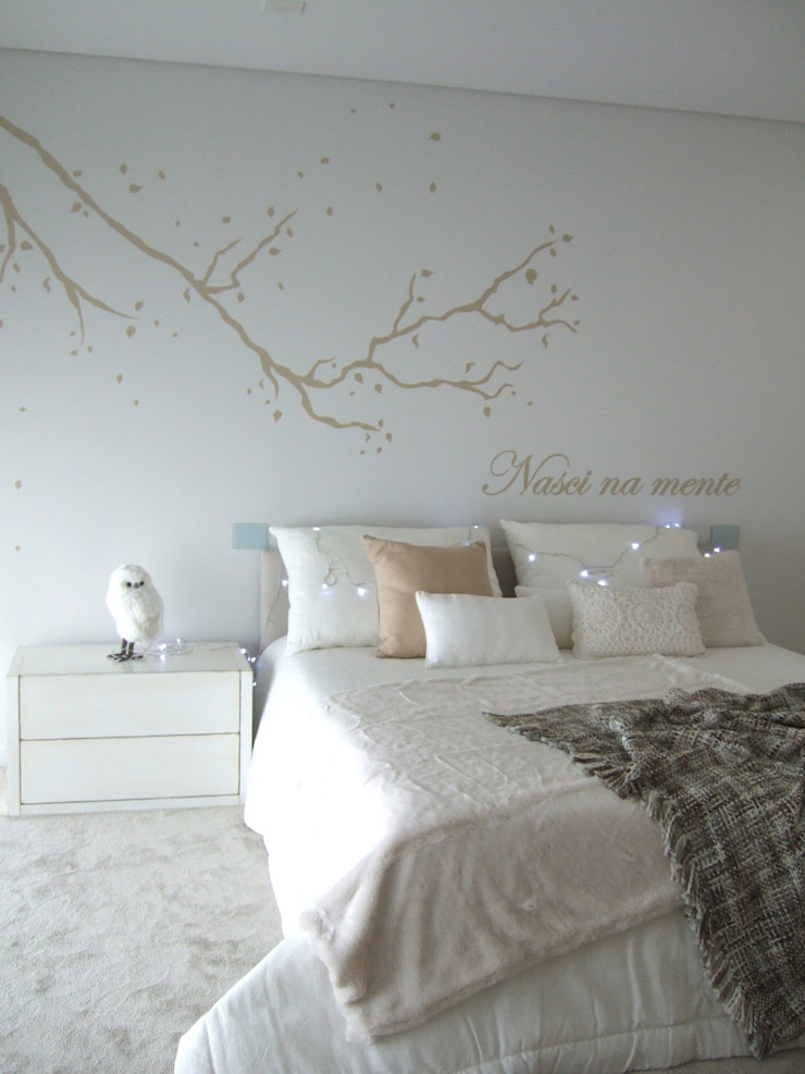 MAMAISON Atelier Interiores Modern nursery/kids room White