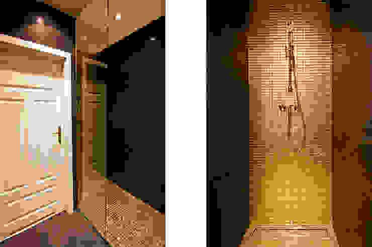 에클레틱 욕실 by IDAFO projektowanie wnętrz i wykończenie 에클레틱 (Eclectic)