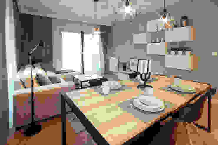 Modern dining room by IDAFO projektowanie wnętrz i wykończenie Modern