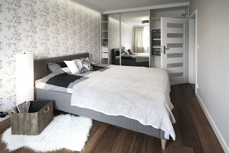 Moderne Schlafzimmer von IDAFO projektowanie wnętrz i wykończenie Modern
